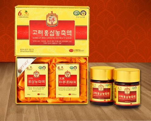 Cao Hồng Sâm Hàn Quốc 100g x 2 lọ KGS