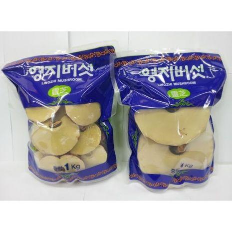 Nấm Linh Chi Hàn Quốc Vàng Loại 3 - 6 Tai 1kg
