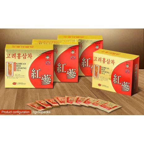 Trà Hồng Sâm Hàn Quốc KGS Hộp Nhỏ 3g x 50 Gói
