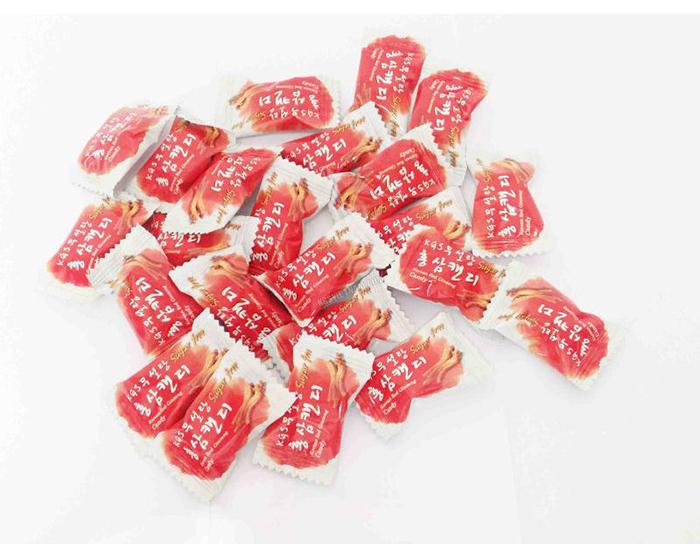 kẹo hồng sâm hàn quốc không đường 300g