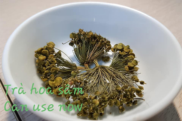 trà hoa sâm hàn quốc