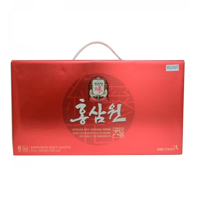 nước hồng sâm cao cấp kgc 15 gói