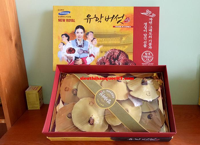 nấm linh chi vàng thơm hàn quốc loại 1kg