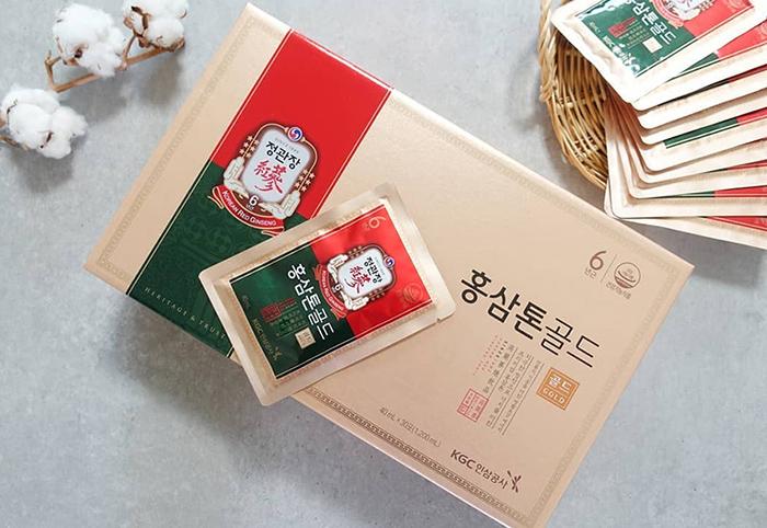 nước hồng sâm Hàn Quốc KGC cao cấp