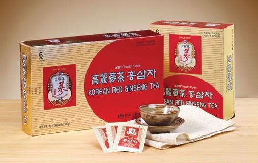 trà hồng sâm hàn quốc 100 gói cao cấp