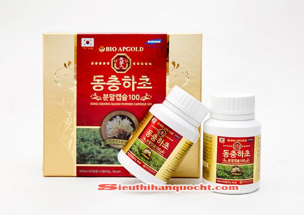 Đông Trùng Hạ Thảo Hàn Quốc Bio Apgold 120 Viên