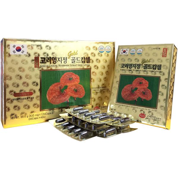 viên chiết xuất linh chi Hàn Quốc kgs 120 viên