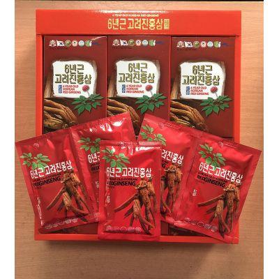 Nước Hồng Sâm Tewoong 70ml x 30 Gói Đỏ Hàn Quốc