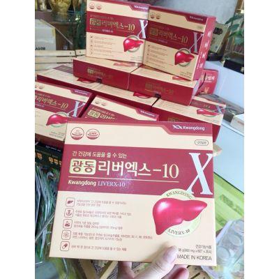 Viên Bổ Gan Giải Độc Kwangdong LiverX-10 Hàn Quốc Hàng Nội Địa