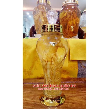 Bình Rượu Ngâm Sâm 1.5 Lít - N60
