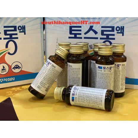 hình ảnh nước chống say xe Hàn Quốc Dongsung 30ml x 30 chai
