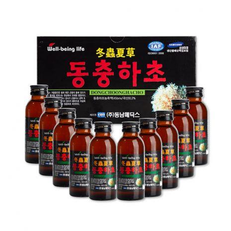 Nước Đông Hạ Thảo Hàn Quốc 100ml x 10 Chai
